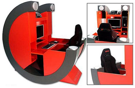 For Those About To Game Battle Rig Pro Gamer Desk Gearfuse Pro Gaming Desk