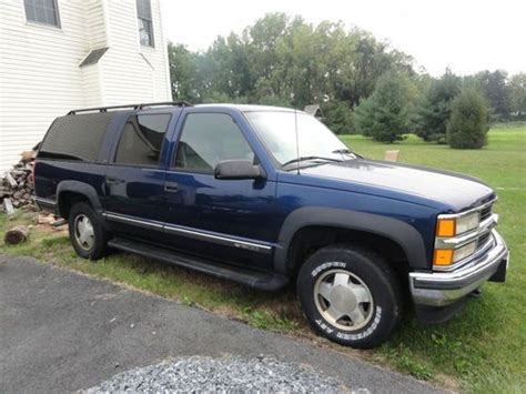 how to work on cars 1999 chevrolet suburban 2500 on board diagnostic system purchase used 1999 chevrolet k1500 suburban lt sport utility 4 door 5 7l in easton pennsylvania