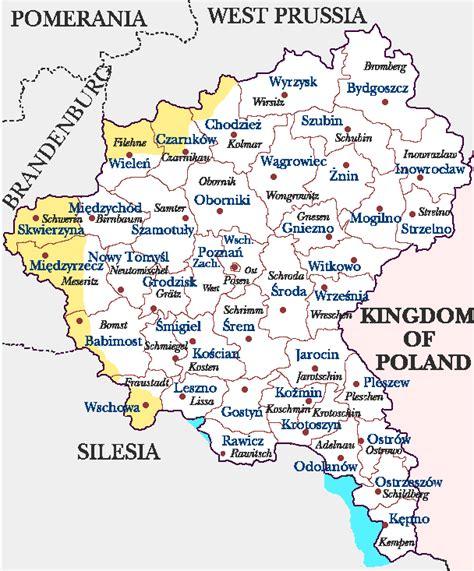 Posen Germany Birth Records Maps Of Poland And Germany Brandenburg Silesia Wielkopolski Pomerania