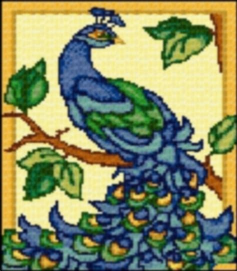 Latch Hook Rug Patterns Free latch hook rug pattern chart peacock email2u latch