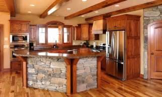 Rustic Kitchen Island Design » Home Design 2017
