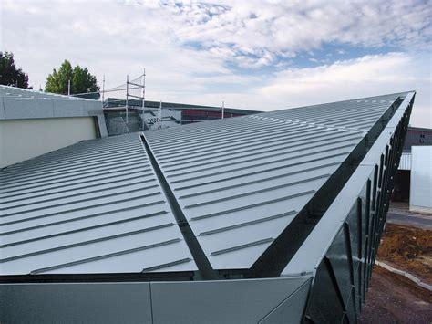angled roof angled standing seam