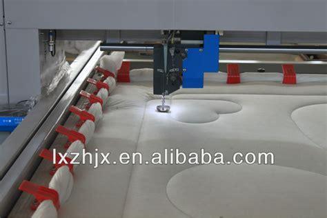 single needle quilting machine for duvet spong mattress