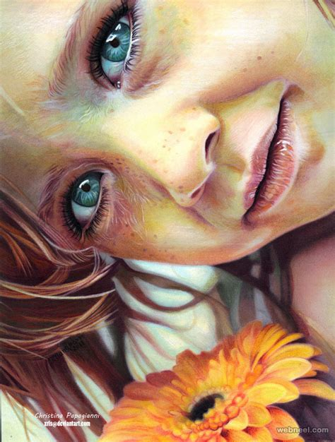 colored pencil portraits hyper realistic color pencil drawing by