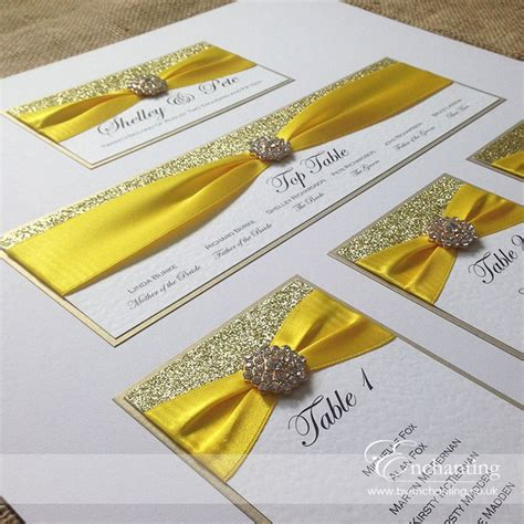 yellow wedding invitations 63 best stationery table plans seating charts images
