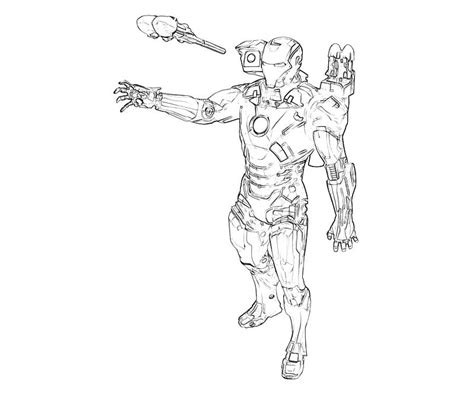 baby iron man coloring pages printable marvel ultimate alliance 2 iron man ability