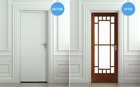 door pattern door sticker office mural decole wrap skin 30x80