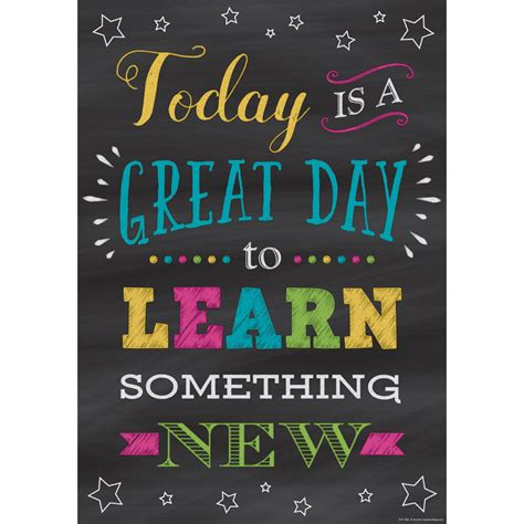 The Day Something To by Today Is A Great Day To Learn Something New Positive