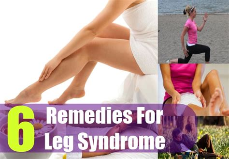 6 home remedies for restless leg