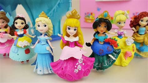 disney princess change clothes toys frozen elsa  baby