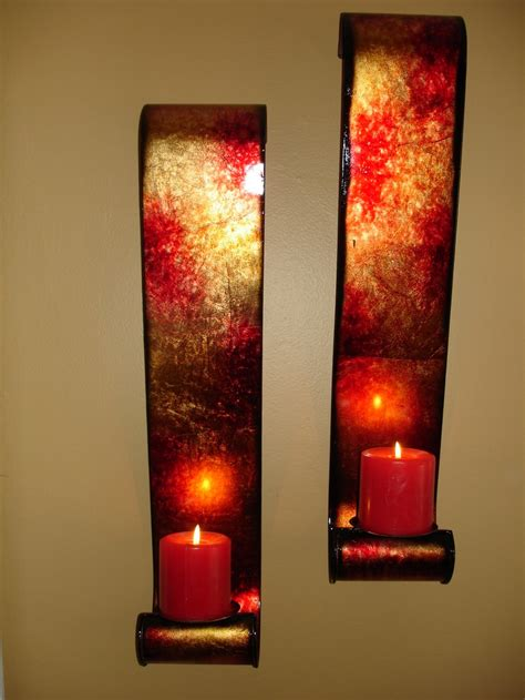 candle wall sconces for bedroom pillar candle wall sconces red beautiful chandeliers