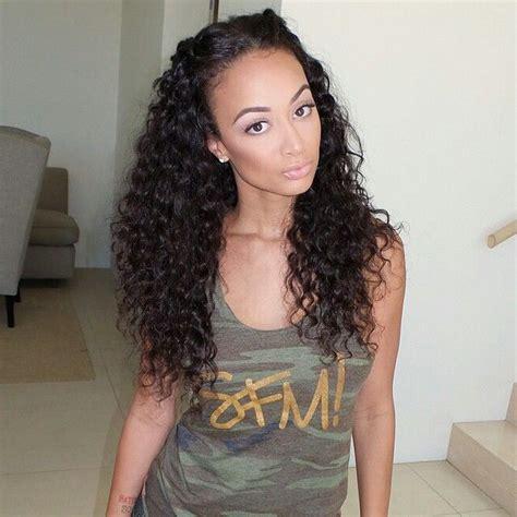 draya michele real hair length draya michele curls hair draya michele pinterest