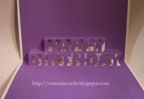 birthday pop up cards templates happy birthday pop up card with tutorial and