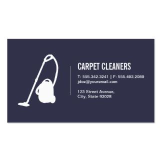 Carpet Cleaning Business Cards Templates by Carpet Cleaning Business Cards Templates Zazzle