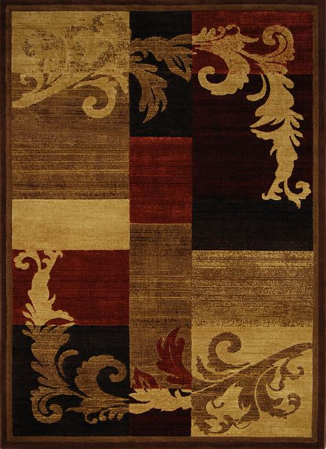 large brown area rugs modern casual 8x11 area rug large contemporary carpet actual 7 10 quot x 10 5 quot ebay