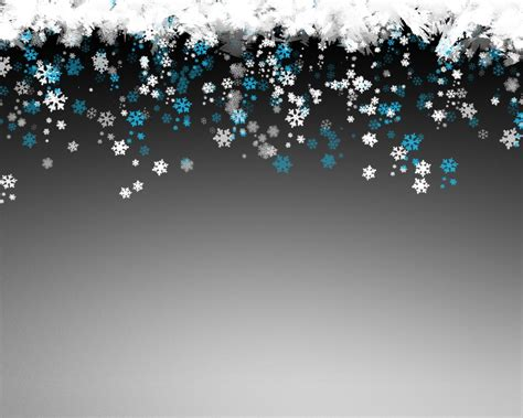New Year Snowflakes Free Ppt Backgrounds For Your Powerpoint Templates New Year Ppt Template