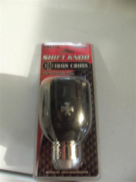 Iron Shift Knob by Sell Pilot Iron Cross Shift Knob Motorcycle In Fall River