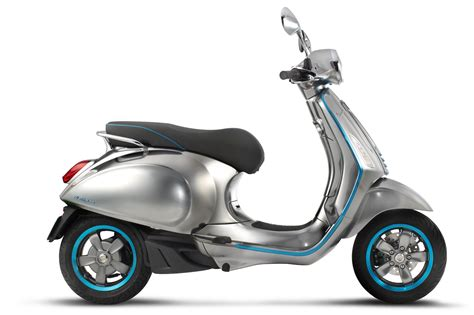 vespa an electric version of its scooter