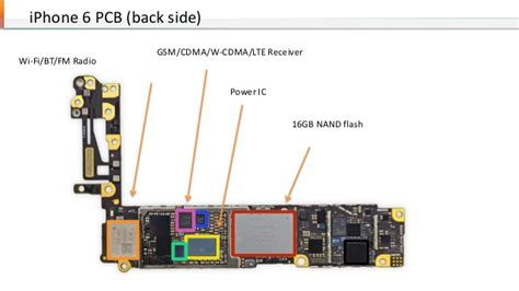 Iphone 7 Motherboard Diagram