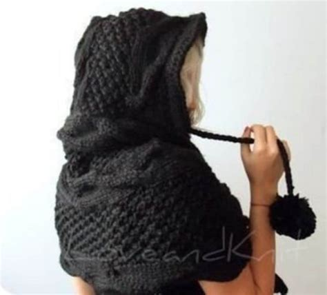 knitted hooded scarf knitted hooded scarf pattern all the best ideas