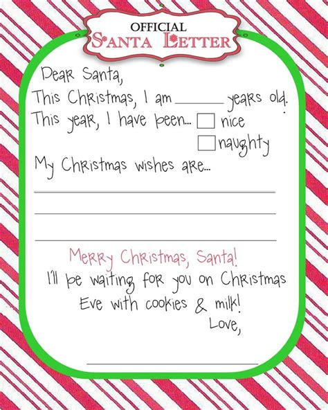 letter to santa template tes best 25 letter from santa template ideas on pinterest