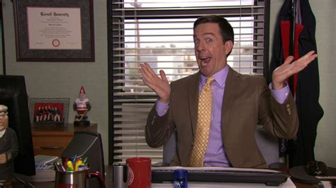 Andy In The Office by 20 Timeless Lessons We Learned From Quot The Office Quot