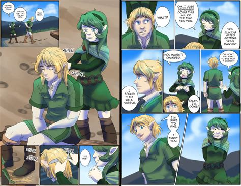 zelda link with black hair zelda hair cut 2 by sage of winds on deviantart