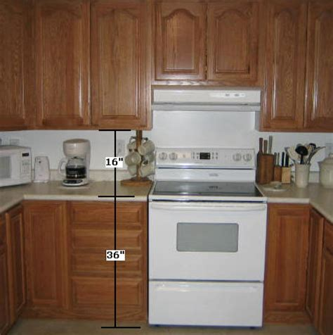 kitchen cabinets height from floor how to install kitchen cabinets