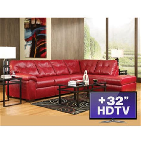 Living Room Furniture Packages With Tv by 7pc Living Room Package With Tv Furniture