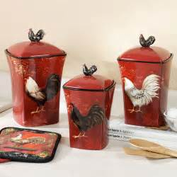 Rooster Kitchen Canisters Pics Photos Rooster Kitchen Decor Pictures With Model