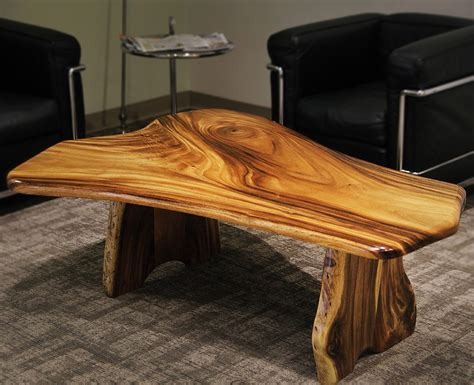 custom made hawaiian hardwood coffee table by custom