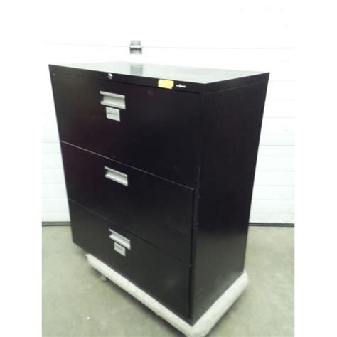 3 Drawer Lateral File Cabinet Black Prosource Black 3 Drawer Lateral Filing Cabinet Locking Allsold Ca Buy Sell Used Office