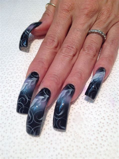 Airbrush Nail by 1000 Ideas About Airbrush Nails On Airbrush