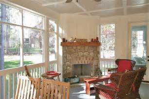 Screened In Porch With Fireplace by 301 Moved Permanently
