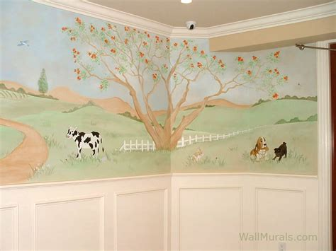 Farm Wall Mural baby room wall murals nursery wall murals for baby boys