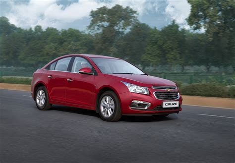 chevrolet car cruze price 2016 chevrolet cruze facelift launched in india