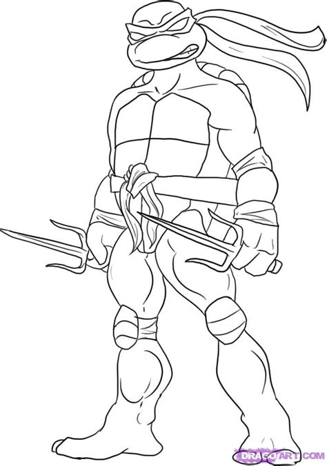 ninja turtle coloring pages birthday draw pictures online free free online drawing