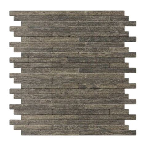 decorative wall tiles inoxia speedtiles woodly 11 88 in x 12 in self adhesive