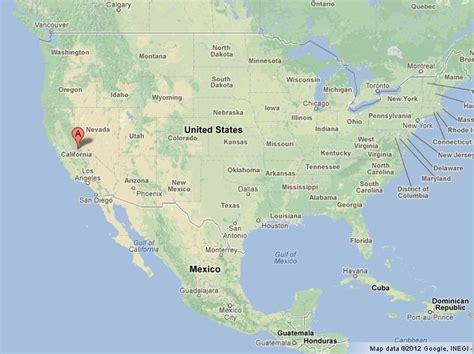 map usa yosemite yosemite national park on usa map world easy guides