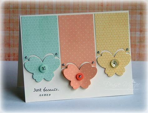 Handmade Card Images - 30 great ideas for handmade cards