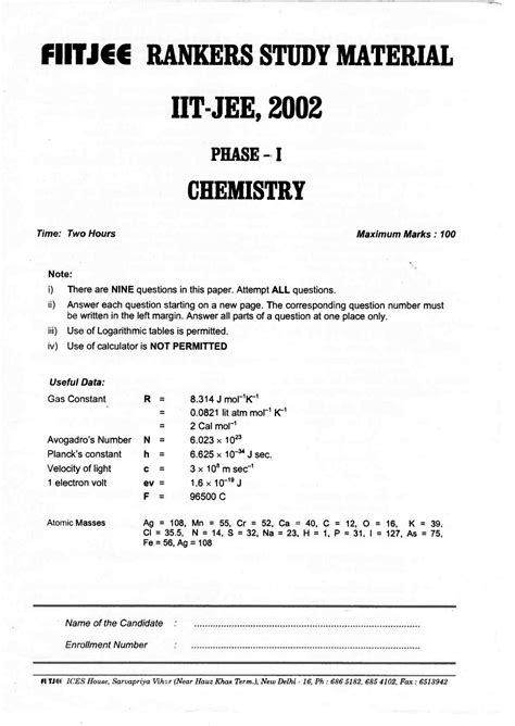 Piston R Rr Type B 75 fiitjee question papers from rankers study material for