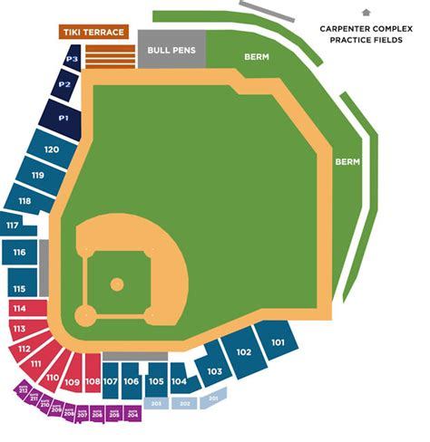 contact bright house bright house stadium seating chart pictures to pin on pinterest pinsdaddy