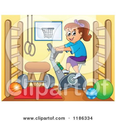 clip on fan for spin bike the gallery for gt cycling class clipart