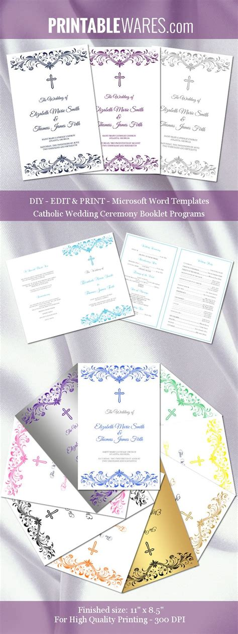24 images of wedding program template microsoft office infovia net
