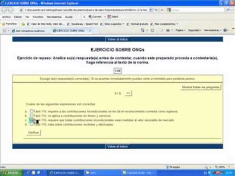 jezl auditores tutorial ejercicio www jezl auditores com youtube