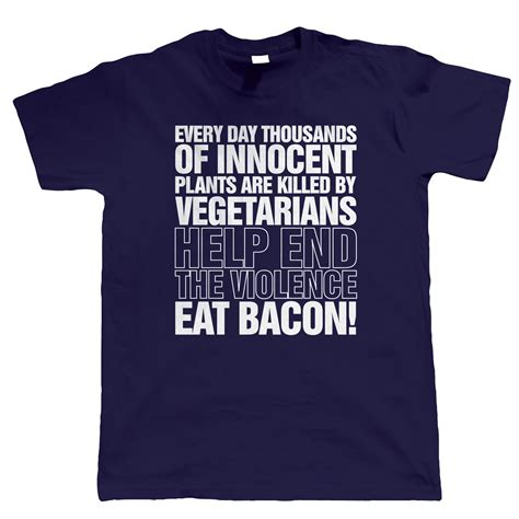 bacon pattern t shirt eat bacon mens funny t shirt birthday gift for dad him