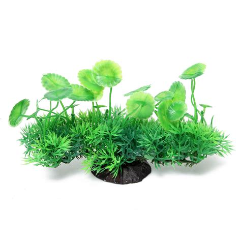 Plastic Grass Decoration by New Artificial Plastic Grass Plant Decor Fish Tank
