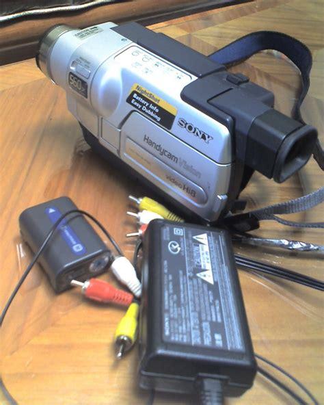 camaras sony handycam camara de sony handycam vision hi8 ccd trv118