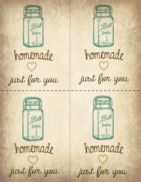 free printable ball jar labels mocha doodle designs ball jar printable gift tags