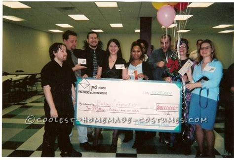 Publishers Clearing House Department Of Contests - publishers clearinghouse prize patrol group halloween costume